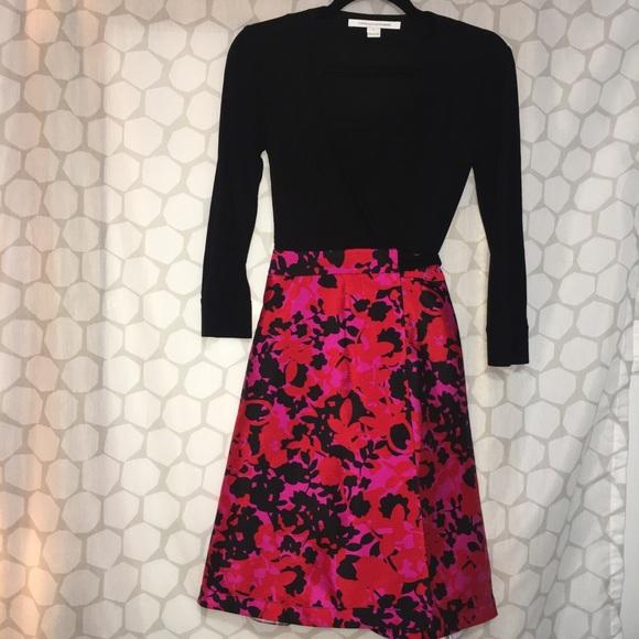 Diane Von Furstenberg Dresses & Skirts - DIANE VON FURSTENBERG Amelia Wrap Dress
